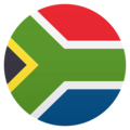 Flag: South Africa on JoyPixels 6.0