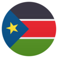 Flag: South Sudan on JoyPixels 6.0