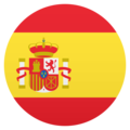 Flag: Spain on JoyPixels 6.0