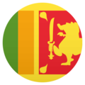 Flag: Sri Lanka on JoyPixels 6.0