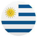 Flag: Uruguay on JoyPixels 6.0