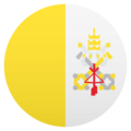 Flag: Vatican City on JoyPixels 6.0