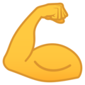 Flexed Biceps on JoyPixels 6.0