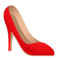High-Heeled Shoe on JoyPixels 6.0