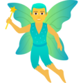 Man Fairy on JoyPixels 6.0