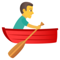 Man Rowing Boat on JoyPixels 6.0