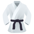 Martial Arts Uniform on JoyPixels 6.0