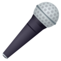 Microphone on JoyPixels 6.0