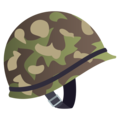 Military Helmet on JoyPixels 6.0