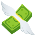 Money with Wings on JoyPixels 6.0