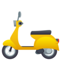 Motor Scooter on JoyPixels 6.0