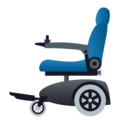 Motorized Wheelchair on JoyPixels 6.0