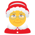 Mrs. Claus on JoyPixels 6.0