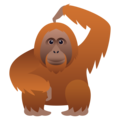 Orangutan on JoyPixels 6.0