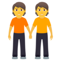 People Holding Hands on JoyPixels 6.0