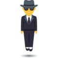 Person in Suit Levitating on JoyPixels 6.0
