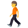 Person Walking on JoyPixels 6.0