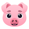 Pig Face on JoyPixels 6.0