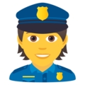 Police Officer on JoyPixels 6.0