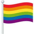 Rainbow Flag on JoyPixels 6.0