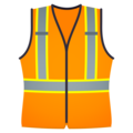 Safety Vest on JoyPixels 6.0