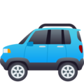 Sport Utility Vehicle on JoyPixels 6.0