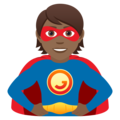 Superhero: Medium-Dark Skin Tone on JoyPixels 6.0