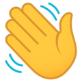 Waving Hand on JoyPixels 6.0