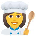 Woman Cook on JoyPixels 6.0