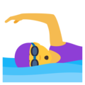 Woman Swimming on JoyPixels 6.0