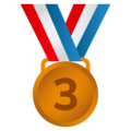 3rd Place Medal on JoyPixels 6.5