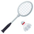 Badminton on JoyPixels 6.5