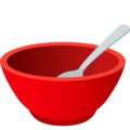 Bowl with Spoon on JoyPixels 6.5