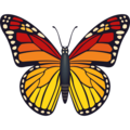 Butterfly on JoyPixels 6.5