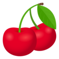 Cherries on JoyPixels 6.5