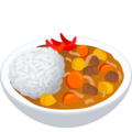 Curry Rice on JoyPixels 6.5