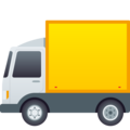 Delivery Truck on JoyPixels 6.5