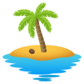 Desert Island on JoyPixels 6.5