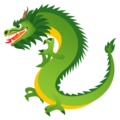 Dragon on JoyPixels 6.5