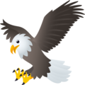 Eagle on JoyPixels 6.5