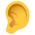 Ear on JoyPixels 6.5