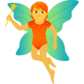 Fairy on JoyPixels 6.5