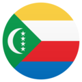 Flag: Comoros on JoyPixels 6.5