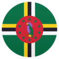 Flag: Dominica on JoyPixels 6.5