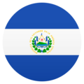 Flag: El Salvador on JoyPixels 6.5
