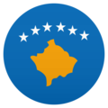 Flag: Kosovo on JoyPixels 6.5
