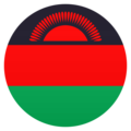 Flag: Malawi on JoyPixels 6.5