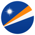 Flag: Marshall Islands on JoyPixels 6.5