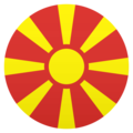 Flag: North Macedonia on JoyPixels 6.5