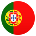 Flag: Portugal on JoyPixels 6.5